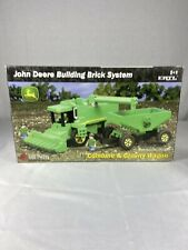John Deere Combine And Gravity Wagon Building Brick System By Ertl