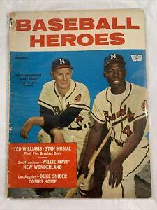 Whitestone Publications Baseball Heroes 1958