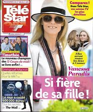 TELE STAR N°2121 27/05/2017  V. PARADIS & LILY-ROSE_BARTHES_12 COUPS MIDI_MACRON