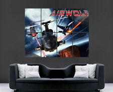 Supercopter poster hélicoptère classique série tv rétro filmhuge wall art print