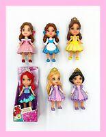 "My First Disney Princess 3"" Mini Toddler Dolls Lot Of 6"