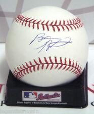 Byron Buxton Minnesota Twins Signed Omlb Baseball Lom Coa (Bsb88)