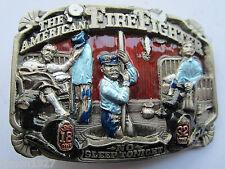 Pompiere Vigile del Fuoco Fibbia della cintura dell'American Firefighter.