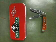 "Bear & Son Trapper Knife #K654 1/2 3"" Autumn Jig"