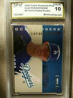 CLAYTON KERSHAW Dodgers 2006 TriStar Prospects ProTential rookie MGS GEM MINT 10