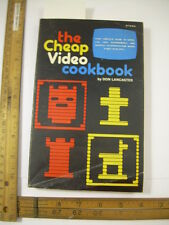 Cheap Video Cookbook 1978 Don Lancaster GRAPHIC MICROPROCESSOR VIDEO DISPLAY DiY