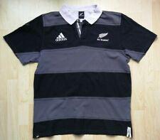 Polo Shirt * Adidas * All Blacks * Rugby  * Gr./Sz. XL - Vintage Rare
