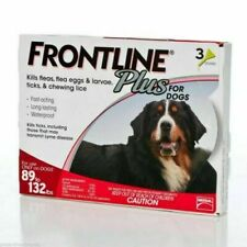 FRONTLINE Plus Flea and Tick treatment for Extra Large Dogs - 3 Doses