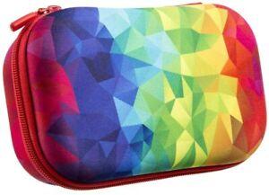 ZIPIT Fresh Colorz Rainbow Multi-Color Pixels Pencil/Storage Box Case