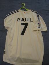 REAL MADRID Jersey Home Maglia CASA  RAUL vintage