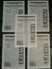 10 Pieces 2018 Taylor Swift Reputation Stadium Tour Show Used Confetti