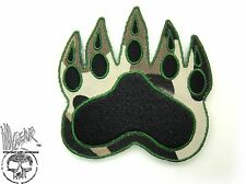 ill Gear v3 Camo Tracker Bear Paw HOOK & LOOP patch Ranger  Tactical