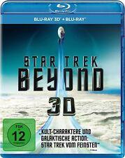 STAR TREK 13: BEYOND (Chris Pine, Simon Pegg) Blu-ray 3D + Blu-ray Disc NEU+OVP