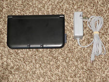 Works Great! Nintendo 3DS XL Black Handheld Console Bundle System Nice Shape!