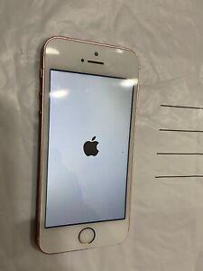 Apple iPhone SE - 32GB - Gold (Unlocked) A1662 (GSM) Smartphone Bent Frame
