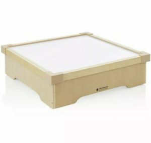 Guidecraft Tabletop Lightbox with LED Surface in Natural