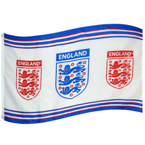England Football Three Lions Body Flag 1520mm x 910mm (bst)