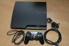 Sony Playstation 3 PS3 Slim 120GB CECH-2004A, Kabel FW 4.87 FUNKTIONIERT PERFEKT