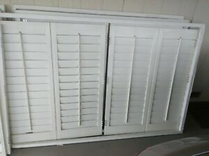 Plantation Shutters White Used