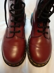 Doctor Martin boots. Oxblood colour. Used only handful of times. Size 4 u/k