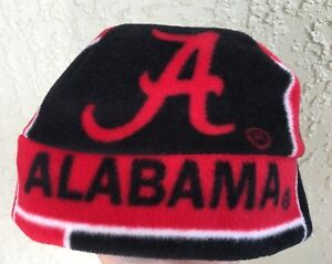 University of Alabama Fleece Beanie Hat Size Newborn boys girls Children & Adult