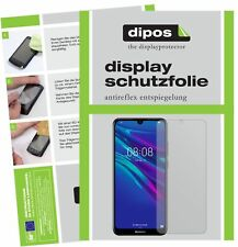 2x Huawei Y6 (2019) Film de protection d'écran protecteur antireflet dipos