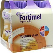 FORTIMEL Yoghurt Style Pfirsich Orangegeschmack 4X200ml PZN 1124968
