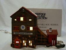 Dept 56 New England Village Series Blue Star Ice Co. 56472 Mint