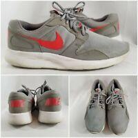 Nike Roshe Kaishi Grey Red Running Shoes Sneakers 654473-060 Mens 9.5