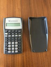 texas instruments ba ii plus financial calculator used excellent condition