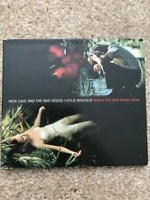 New listing Nick Cave And The Bad Seeds +Kylie Minogue Where The Roses Grow CD Single