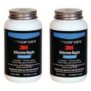 2 BOTTLES OF 3M 08946 Silicone Clear Paste  (8 oz bottle) 3M-08946,8946