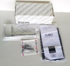 """Porcelanosa Noken """"Cubo"""" Chrome Roll Holder 24355/031 (NIOB)"""