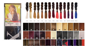 X-PRESSION (XPRESSION) ULTRA HAIR BRAID EXTENSION (TIPPED & NORMAL)