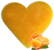 """"""""""" SPECIAL OFFER """"""""   3 x Orange & Ginger Heart Shaped Guest Soaps - FREE P+P"""