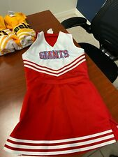Giants Cheer Uniform, Adult Small . Shell & Skirt from Cheerleading.com