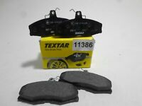Pills Front Brake Pads Pad Set Textar FORD Sierra 1982