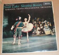 SXL 6187 WBg ED1 Tchaikovsky Swan Lake Sleeping Beauty Karajan VPO DECCA STEREO.