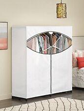 "60"" Portable Closet Organizer Wardrobe Home Clothes Garment Rack Hanger Storage"