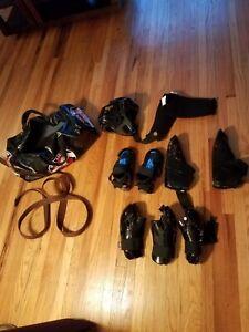 ProForce Lightning Thunder Karate Sparring Equipment Bag Kenpo Helmet Gloves