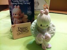 """Precious Moments 531685 """" Surrounded With Joy"""" Ornament 1993"""