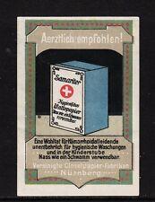 49810/ Reklamemarke - SAMARITER Wattepapier - Vereinigte Closetpapier-Fabriken
