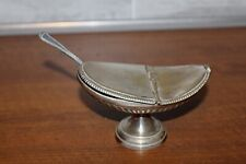 Shuttle With Incense Bronze Silver And Sa Spoon 19th Century
