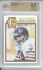 1979 Topps Walter Payton #480 Chicago Bears =10 BLANK BACK RARE GEM MINT BVG 9.5