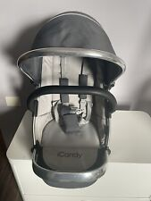 Icandy Peach 3 Truffle Main Seat Unit Chrome Chassis