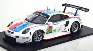 Spark Porsche 911 RSR 24h Le Mans 2019 #94 in 1/18 Scale New Release!