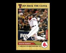 2020 TOPPS NOW #208 TURN BACK THE CLOCK DUSTIN PEDROIA (PRE-SALE)