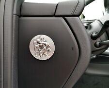 Für Porsche Macan Schutz Plakette Heiliger Sankt St. Christophorus Relief Emblem