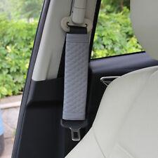 Grau Auto Schulter Entspannter Safety Riemen Schelle Stopfen Set Zubehör