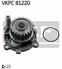 SKF Water Pump VKPC 81220 fits Volkswagen Golf 1.6 Mk4 (74kw)